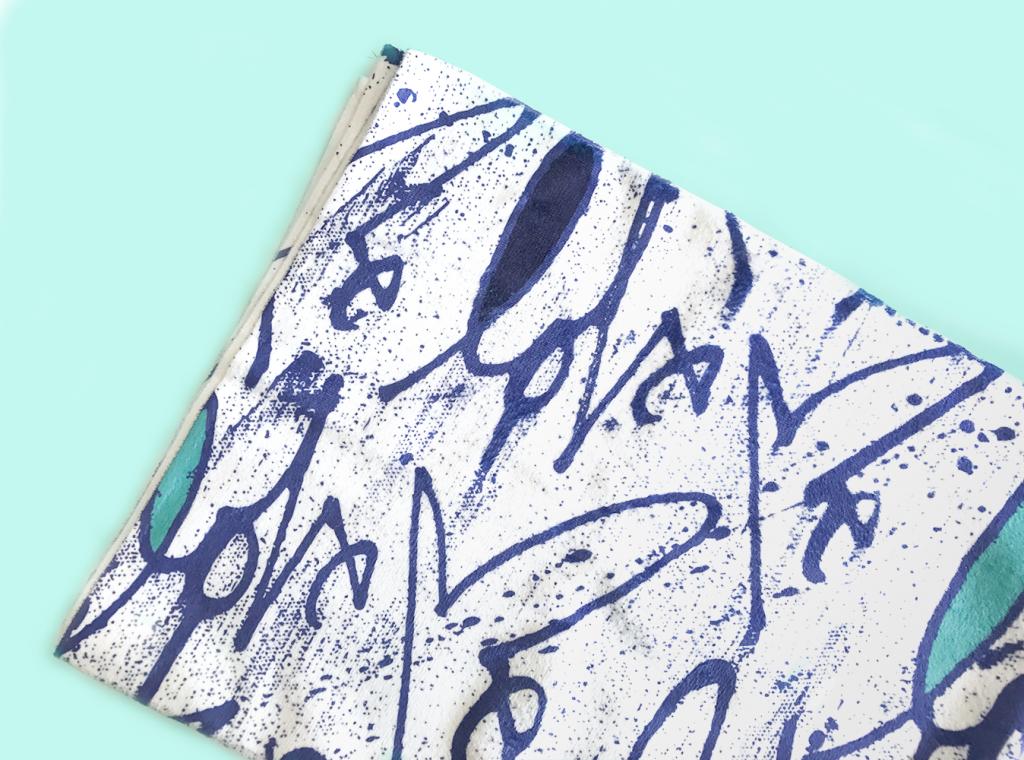 Curtis Kulig Bluefish Towel