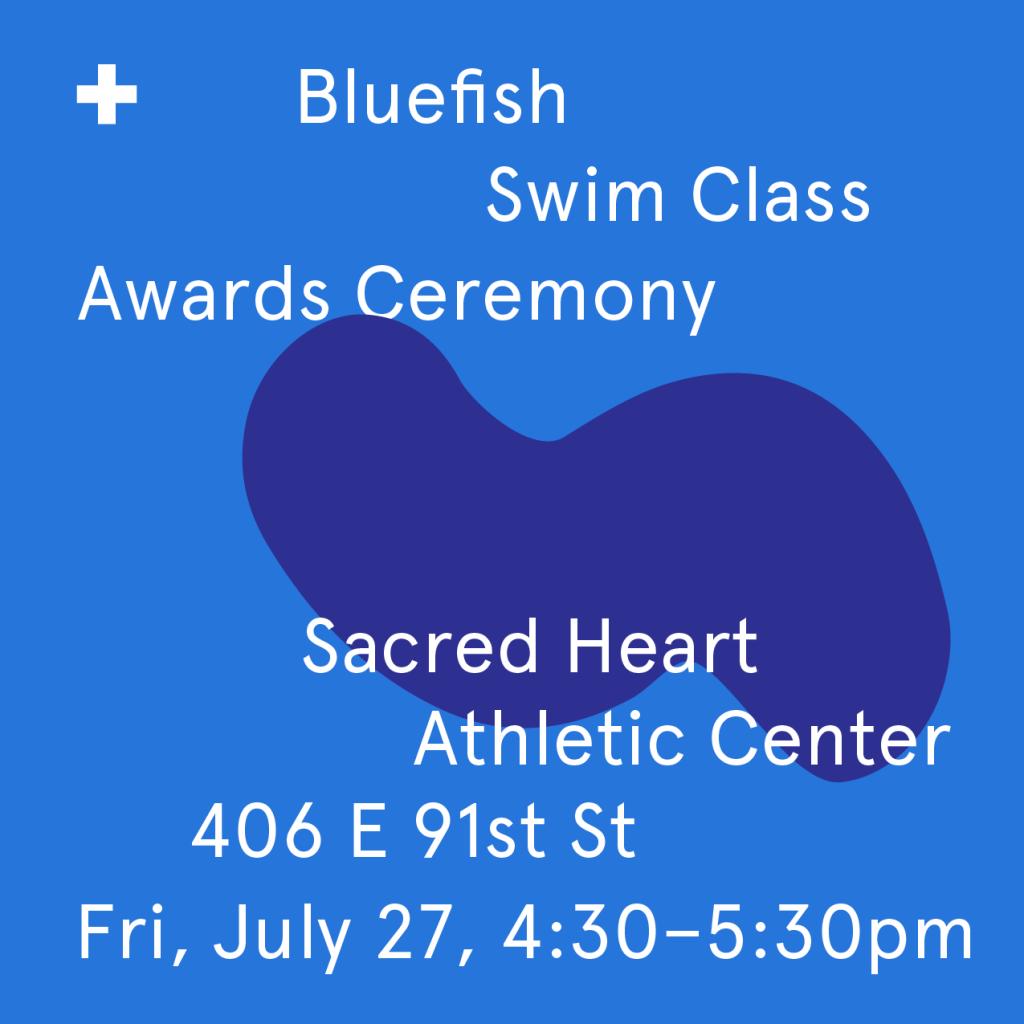 2018 Bluefish Swim Class Awards Ceremony